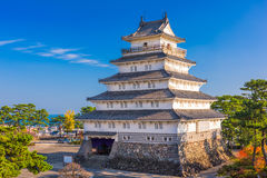 Shimabara Castle in Japan Royalty Free Stock Photography