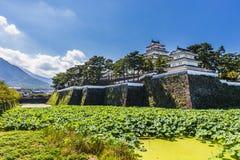 Shimabarakasteel, beroemde aantrekkelijkheid in de Prefectuur van Nagasaki, Kyu stock afbeelding