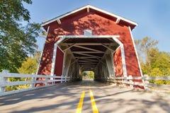 Shimanek Covered Bridge in Oregon Royalty Free Stock Photography