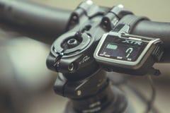 Shimano Di technology pour des vélos de montagne Image libre de droits