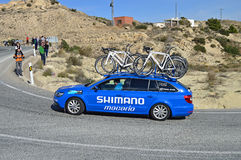Shimano Support Vehicle Stock Image