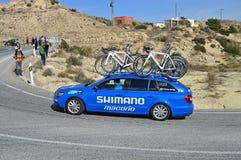 Shimano Support Vehicle Stock Image