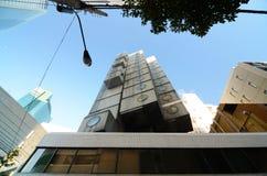 SHIMBASHI, JAPAN - NOV 26 : The Nakagin Capsule Tower, Tokyo, Ja Stock Photo
