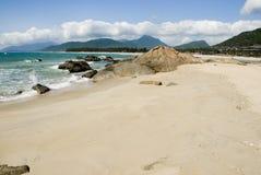 ShiMeiWan naturligt landskap för hainan ö arkivbild