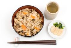 Shimeji-gohan Stock Images