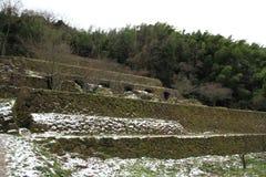 Shimizudani refinery ruins in Iwami ginzan silver mine (world heritage) Stock Photography