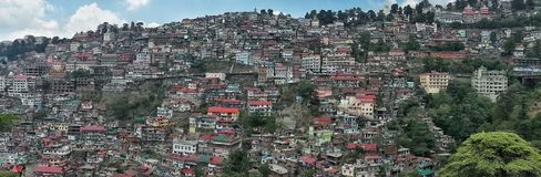Shimla imagem de stock