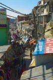 Shimla Bazaar Stock Photo