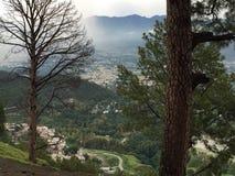 Shimla-Berg Abbotabad Lizenzfreies Stockfoto