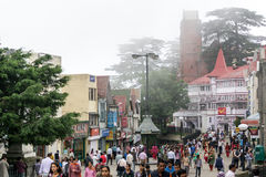 Shimla city in India Stock Image