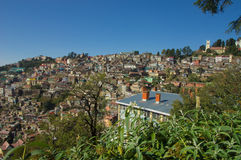 Shimla. City located in the mid hills of the western Himalaya Stock Photography