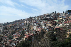 Shimla. Hill Station in the foothills of the Himalayas Stock Photography