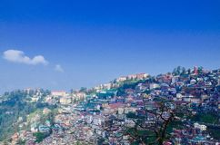 Clean and comfortable city !!. Shimla in himachal paradesh Stock Photo