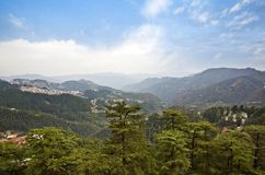 Shimla, Himachal Pradesh, India Royalty Free Stock Photos