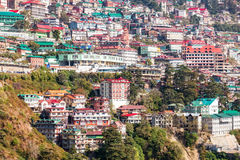 Shimla in India Royalty Free Stock Photo