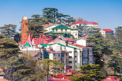 Shimla in India Royalty Free Stock Photography