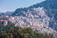 Shimla in India Royalty Free Stock Images
