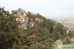 Shimla Indien Fotografering för Bildbyråer