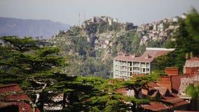 Shimla, Indien stock video footage