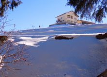 Shimla, Indien lizenzfreie stockbilder