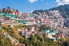 Shimla in Indien Lizenzfreies Stockbild