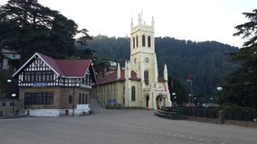 Shimla. Mall Road Shimla Royalty Free Stock Image