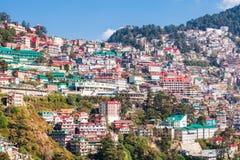 Shimla na Índia imagem de stock