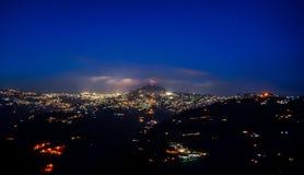 Shimla a rainha dos montes fotografia de stock royalty free