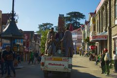 Shimla Removers Royalty Free Stock Photo
