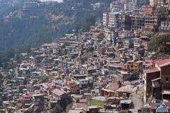 Shimla Townscape Fotografie Stock Libere da Diritti