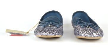 Shimmer ασημένια μπλε επίπεδα στοκ εικόνες με δικαίωμα ελεύθερης χρήσης