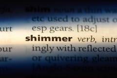 shimmer stockbild