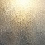 Shimmer gold silver transition abstract background. Defocused gleaming texture. royalty free stock images