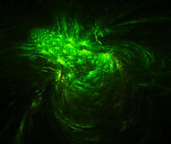 Shimmer green abstract background Stock Photography