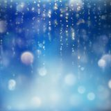 Shimmering blur background with shining lights. EPS 10 vector Royalty Free Stock Photography