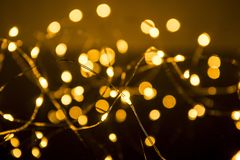 Shimmering blur spot lights on abstract background.  royalty free stock photos