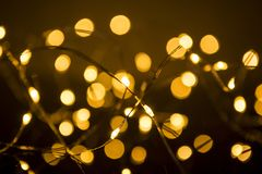 Shimmering blur spot lights on abstract background.  stock photography