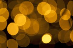 Shimmering blur spot lights on abstract background.  stock image