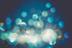 Shimmering Bokeh Lights Royalty Free Stock Photo