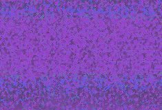 Shimmering dots on purple background. Bright festive pattern. Abstract backdrop with halftone effect. Vector illustration Royalty Free Stock Image