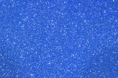 Shimmering glittered blue color background ideal as photo backdr Stock Image