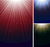 Shimmering ray background Royalty Free Stock Image