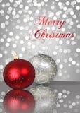 Shimmery рождество Стоковые Изображения RF