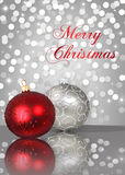 Shimmery Christmas Royalty Free Stock Images