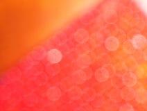 Shimmery roter Untersetzer Stockfotografie