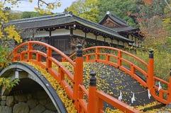 Shimogamo-Jinjaheiligdom, Kyoto, Japan Royalty-vrije Stock Fotografie