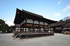 Shimogamo Shrine in Japanese, is the common name of an importan Royalty Free Stock Photography