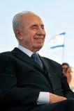Shimon Peres - 9ème président de l'Israël Photo stock