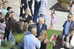 Shimon Peres Fotografia Stock