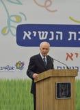 Shimon Peres Zdjęcia Royalty Free